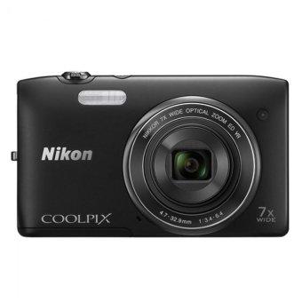 Nikon Coolpix S3400 - 20MP - Hitam