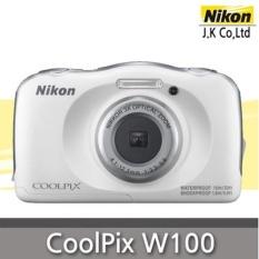 Nikon Coolpix W100 Sports Life Camera 132MP Digital White