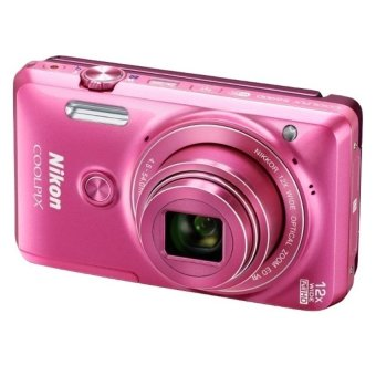 Nikon S6900 Selfie Camera 32GB Case (Pink)