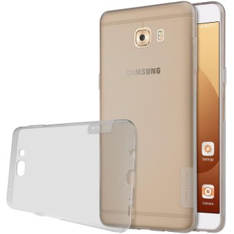 NILLKIN 0.6mm Nature Gel TPU Mobile Cover Case for Samsung Galaxy C9 Pro - Grey - intl