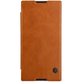 NILLKIN case for sony xperia xa1 ultra case cover wallet 6.0''Vintage Qin Flip PU leather plastic back cover for xperia xa1 ultra- intl