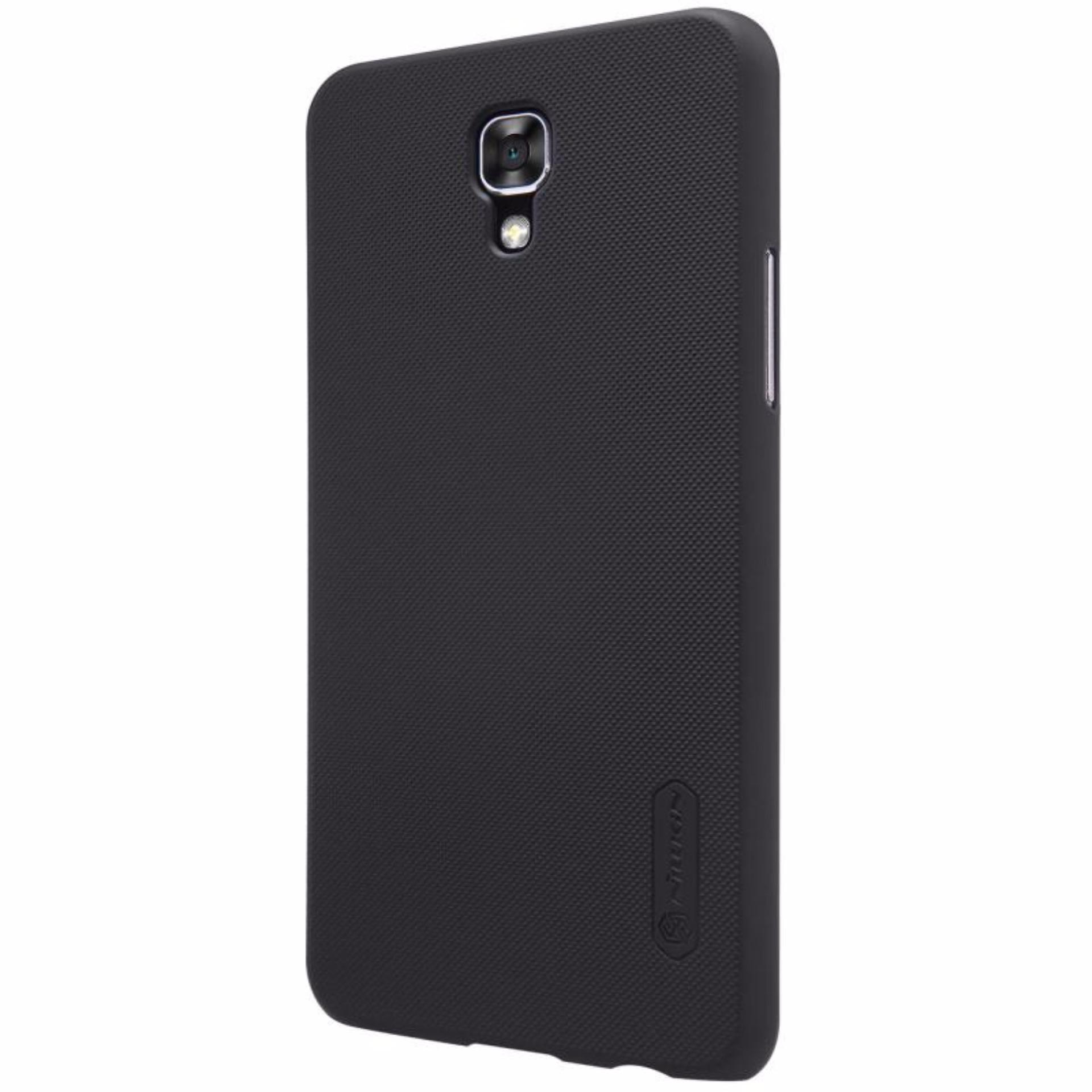 Nillkin For LG X Screen Super Frosted Shield Hard Case Original -Hitam .