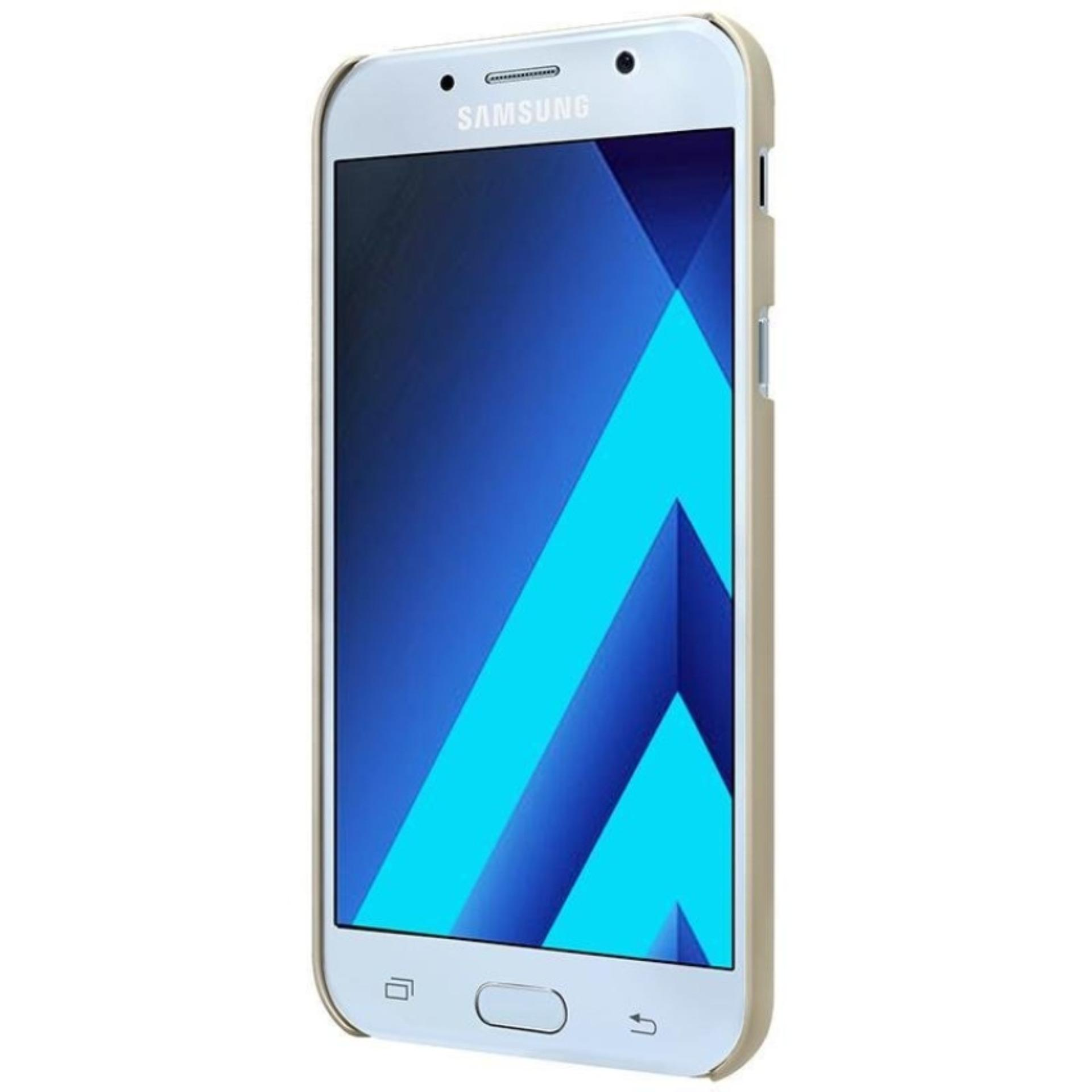 Nillkin Frosted Hard Case Samsung Galaxy A5 2017 - Emas + FREETempered Glass .