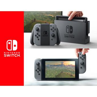 Nintendo Switch Console Gray Bundle Zelda: Breath of the Wild