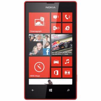 Nokia Lumia 520 Resmi - Merah - BNOB