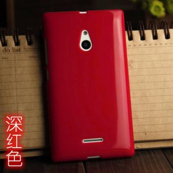 Gambar Nokia xl4g silikon lembut telepon shell ponsel set ponsel