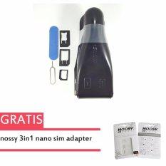 noosy Micro Nano SIM Card Cutter Pemotong Kartu Simcard + Noosy 3 in 1 - Nano Sim - Micro Sim - Card Adapter + Pin Colokan Sim Card