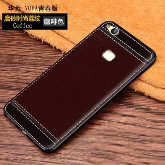 Nova was-al00/tl10 ponsel merek populer lembut pelindung jaket kulit