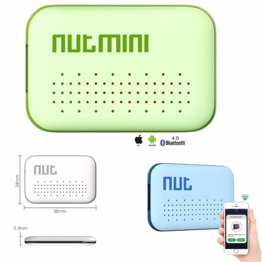 NUT MINI Smart Tracker Alarm F6 - Bluetooth V4.0