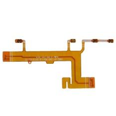 O Tenaga Volume Tombol Camera In Samping Konektor Kabel Fleksibel For Nokia Lumia 625 Emas