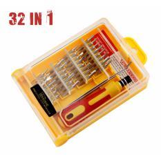 Obeng Set Multi 31 In 1 Screwdriver Handphone Elektronik HP Laptop PC SAmsung Iphone Repair Reparasi Service 32 In 1 Set Pertukangan 31in1 Home Stuff