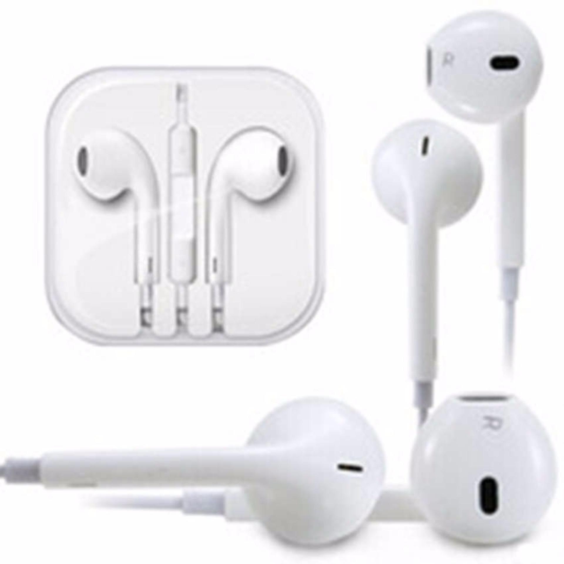 Apple Handsfree For Iphone 5 5c 5s Headset Earphone Vivan Resong W3 Warna Putih Hf Earpod Oem