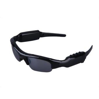 Oh Kacamata Hitam + kamera + MP3 Player + alat pendengar 4-in-1