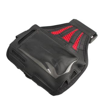 Olahraga lari olahraga Fashion Waterproof Case Armband penutup untuk iPhone 5 lengan jala