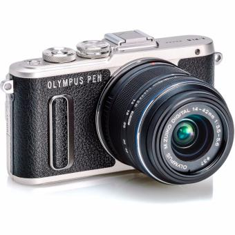 Olympus PEN E-PL8 Mirrorless Micro Four Thirds Kamera Digital Kit 14-42mm EZ - Hitam
