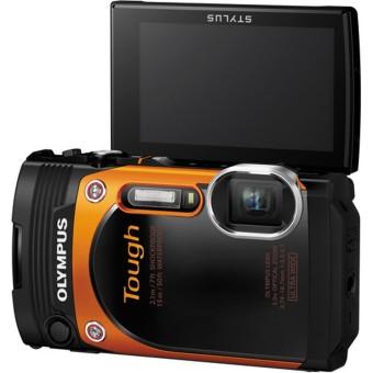 Olympus Stylus Tough TG-860 Digital - 16MP - Orange