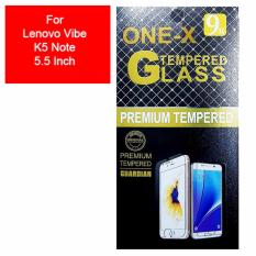 ONE-X 2.5D Rounded Tempered Glass for Lenovo Vibe K5 Note (5.5 inch