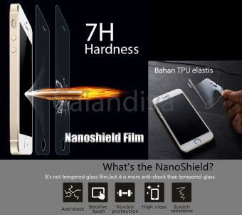 ONE-X Premium Nano Explosion-proof Anti Shatter Film Non TemperedGlass for Xiaomi Redmi Note- Clear - 3