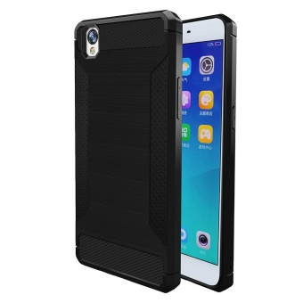 ... Carbon Fiber Silicone Soft Tpu Shockproof Back Phone Case Cover For Samsung Galaxy S8 Black Intl; Page - 2. Bandingkan Simpan OPPO A37 Shockproof Slim ...