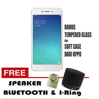 Oppo A37 Smartphone 2/16GB - Rose Gold Free Speaker Bluetooth & I-Ring