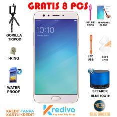 OPPO F3 Smartphone - Gold [RAM 4GB/64GB] Free 8 Bonus & Bisa Kredit