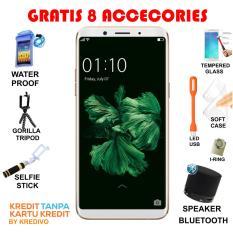 Oppo F5 Smartphone - Gold [32GB/4GB] Free 8 Bonus Menarik Cash Dan Kredit