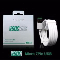 OPPO Kabel Data VOOC 7 Pin Micro USB Original - Putih