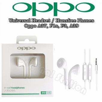 Oppo Music Smart Call Headset / Hansfree Phones Oppo A37, F1s, F3, A39 Connected