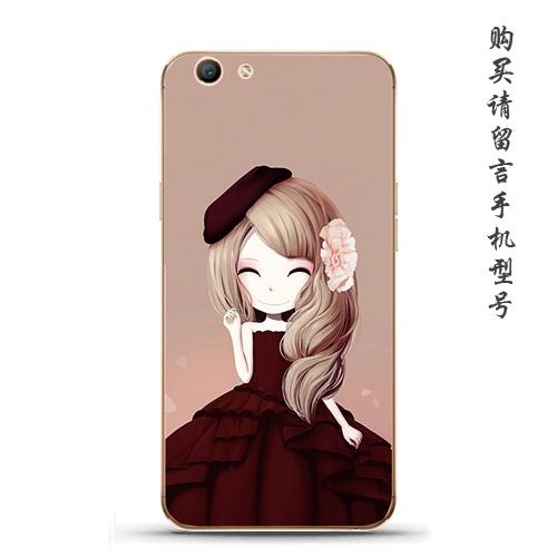 ... Review of Oppoa59 33f1s model gadis cantik bunga gadis gadis lembut penutup shell telepon shock