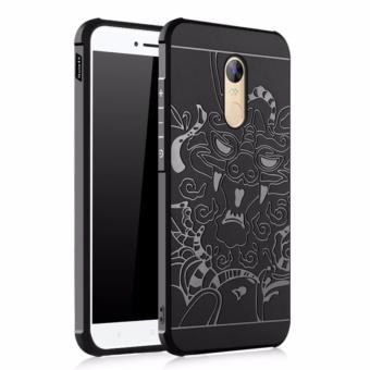 Original Dragon Shockproof Hybrid Case for Xiaomi Redmi Note 4X - Hitam