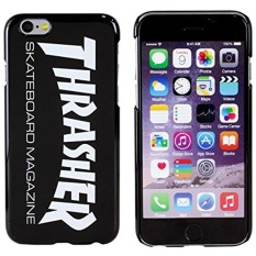 [Original Retail Packaging]Thrasher Skater Magazine Authentic Cover Plastic Case for iPhone 6 (Black) - intl