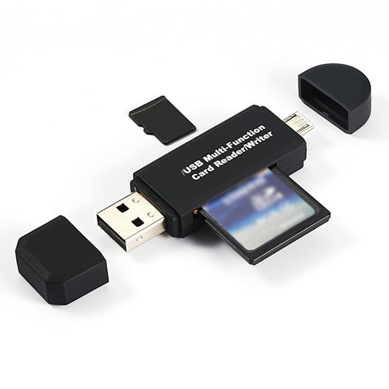 OTG card reader Micro SD/SD card/USB phone reader TF .