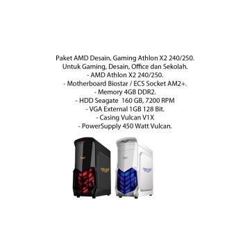 Paket AMD Desain Gaming Athlon X2 240/250