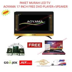 PAKET MURAH LED TV AOYAMA 17 INCH FREE DVD PLAYER+SPEAKER