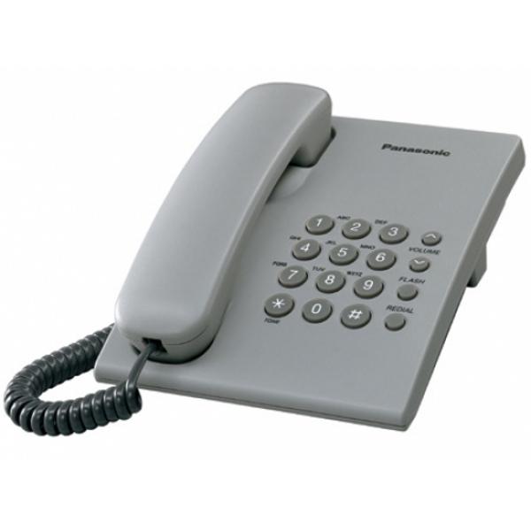 Panasonic KX-TS505 Telepon Kabel - Gray