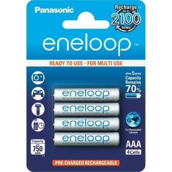 Panasonic Rechargeable Battery Eneloop AAA 950 mAh
