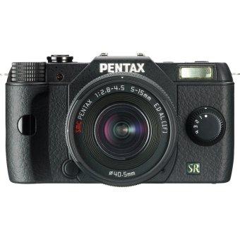 Pentax Q7 02 Lens Kit 5-15mm - Hitam