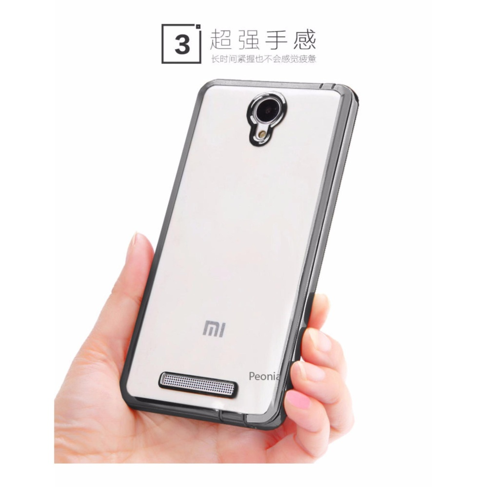 Case Ultrathin Xiaomi Redmi 3 Hitam Clear Daftar Harga Terlengkap Ume Note 2 Peonia Aircase Luxury Plating Gilded Crystal For
