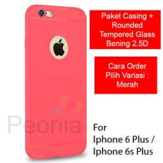 Peonia Anti Fingerprint Premium Quality Grade A Ultraslim Hybrid Case for Iphone .