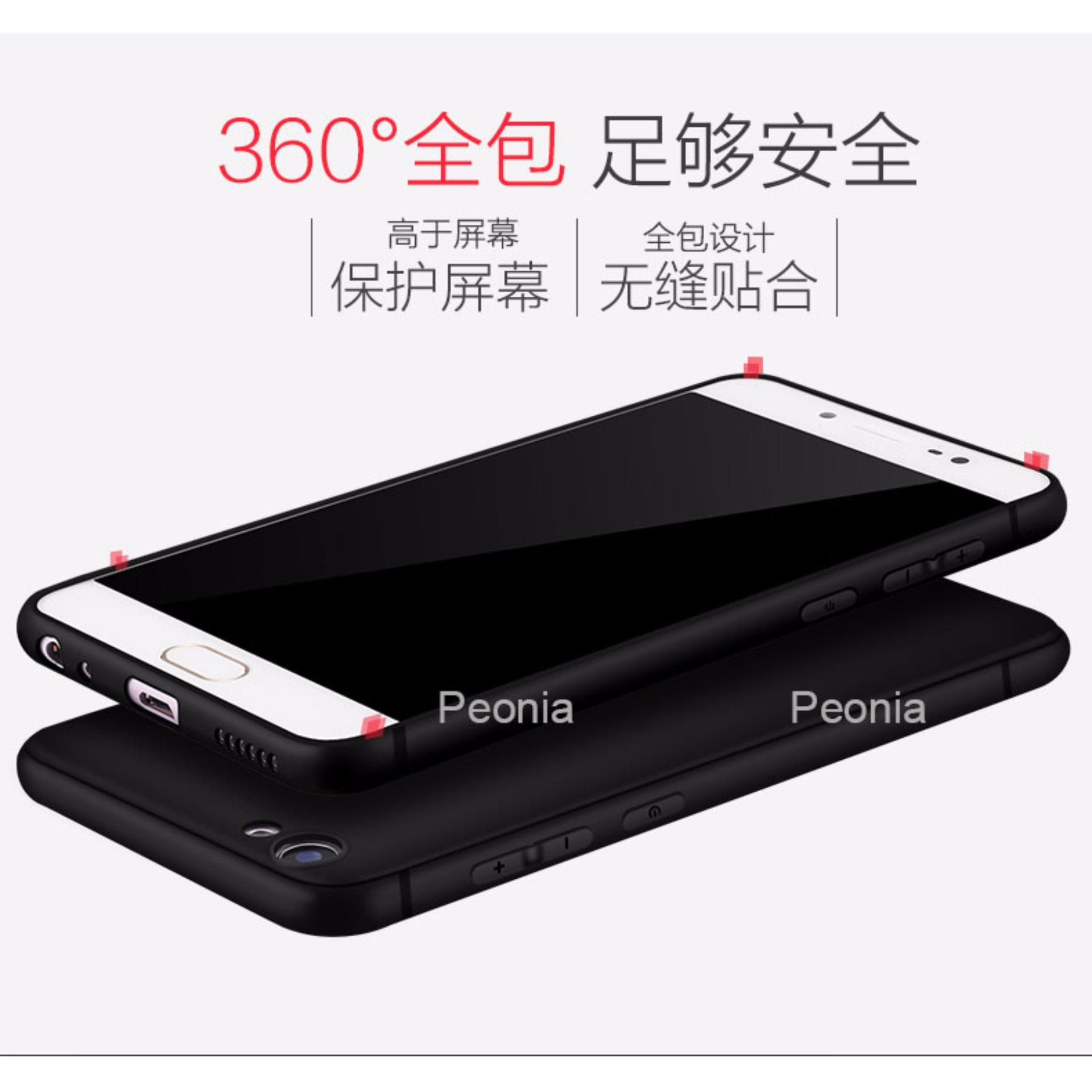 Peonia Anti Fingerprint Premium Quality Grade A Ultraslim Hybrid Case for VIVO V5 / V5 Lite ...