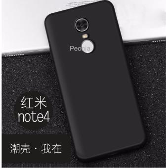 4a Source Peonia Anti Fingerprint Ultraslim Hybrid Case for Xiaomi Redmi Note 4 .