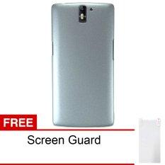 Peonia OnePlus One Hardcase 1+1 - Abu-abu + Free Screenguard