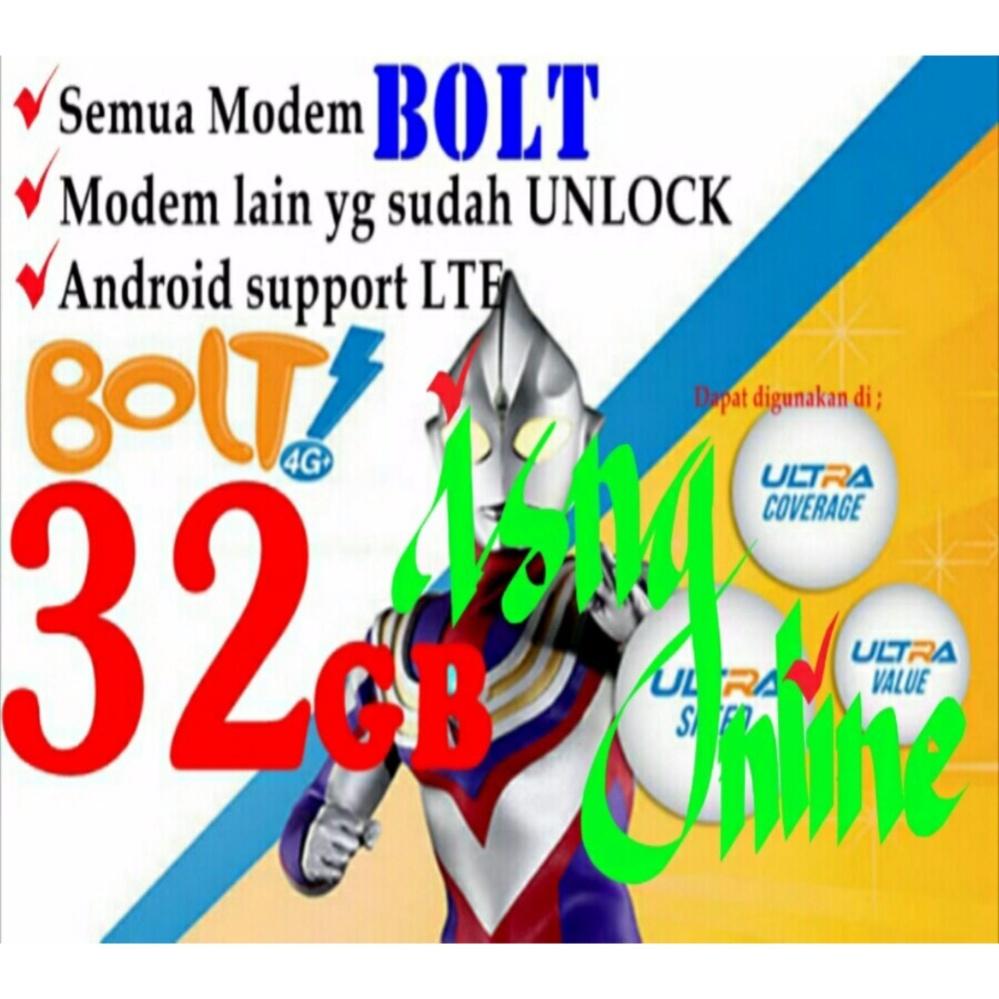 Flash Sale Perdana Modem Bolt Orion MF90 Aquila Slim Aquila Max XL GO 60GB 90GB E5577 E5573 bkn smartfren 13GB