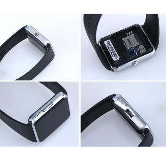 Perhiasan Notifier Sinkronisasi Jam Pintar Dengan Kartu SIM Konektivitas Bluetooth (Perak) - 4