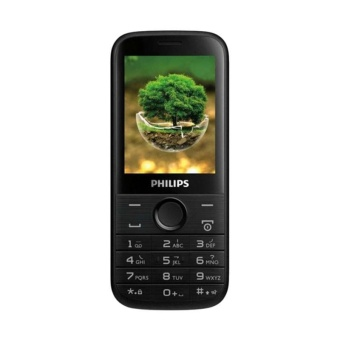 Philips E160 Handphone - Black