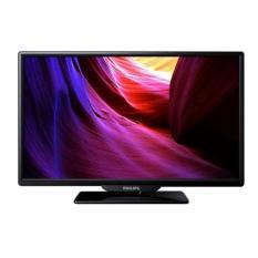 PHILIPS - LED TV - 24 inch - 720p - Sharp Moving Image - USB - PC Input - Hitam - 24PHA4100S