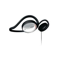 Philips SHS390 Neckband Over Ear Headphone - Hitam/Silver