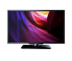 Philips Slim LED TV 24PHA4100S 2in1 TV or PC in VGA - 24inch - Hitam - Khusus Area JABODETABEK