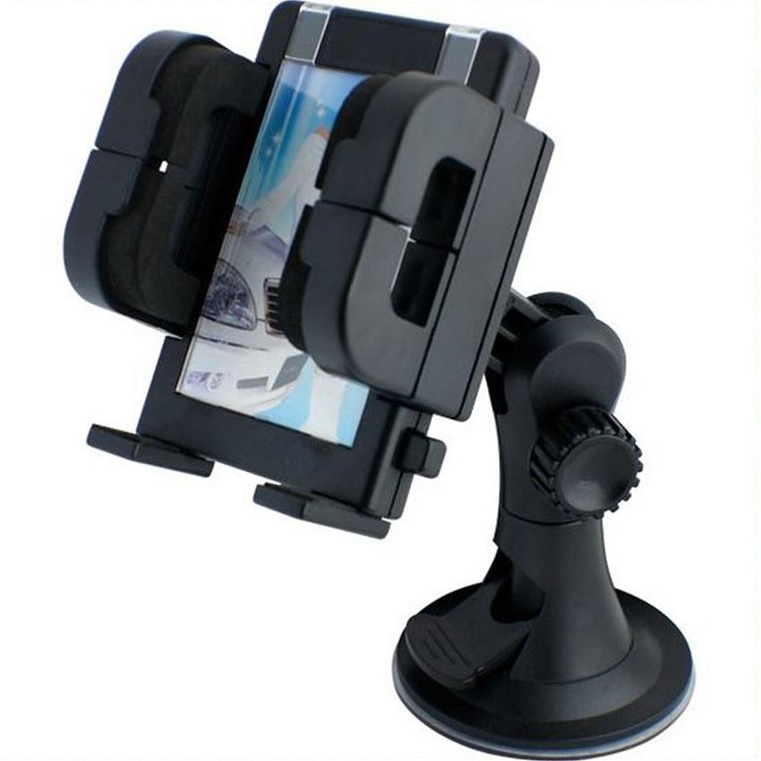 Phone Holder Car Vaccum Cup Robot - Holder Mobil untuk Gadget Smartphone GPS PDA MP4 - Hitam