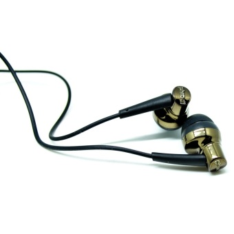 Phrodi 007P Earphone with Microphone - POD-007P - Champagne Gold - 2